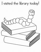 Library Coloring Pages Today Visited Sheets Librarian Activities Skills Google Skill Themed sketch template