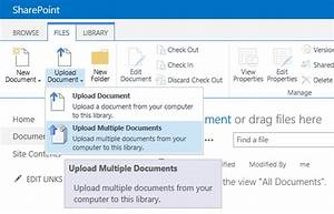 sharepoint 2013 upload multiple files issues With upload documents sharepoint 2013