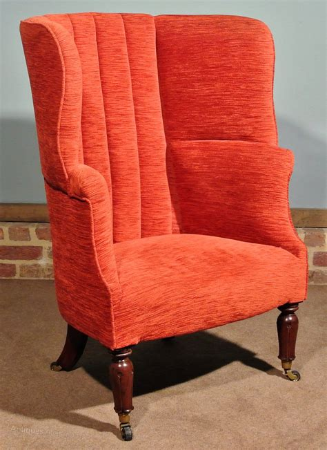 Regency Barrel Back Wing Arm Chair C 1835  Antiques Atlas