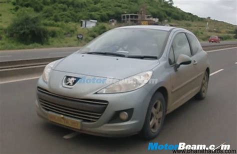Peugeot India by Spied Peugeot 207 508 In India