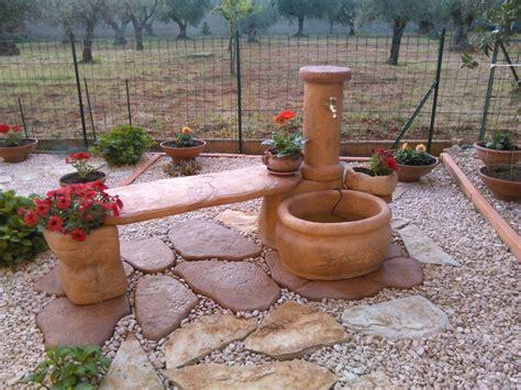 piastre per giardino fontana azalea con panchina realizzazioni fontane da