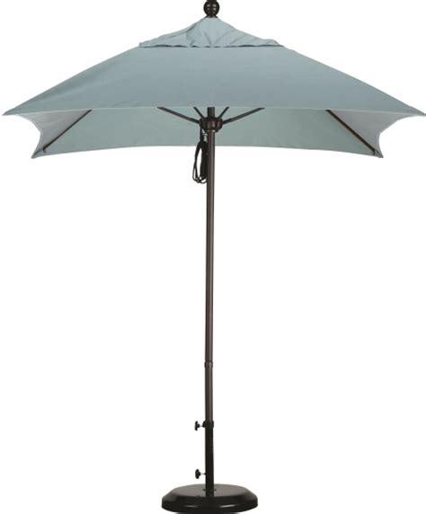 6 aluminum square sunbrella a patio umbrella