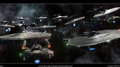 Trek Star Ships Starship Starfleet Wallpapers Sci
