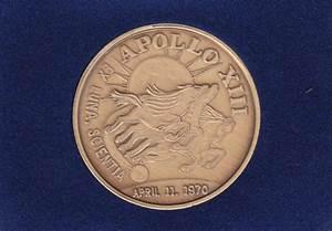 Apollo 13 Commemorative Coin - Pics about space
