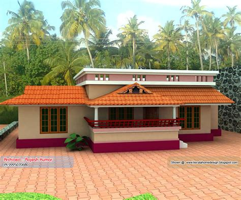 floor plans for one homes home plan and elevation 1000 sq ft kerala home design