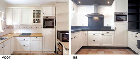 Oude Keuken Opknappen by Bestaande Keuken Opknappen Flexibele Slang Afzuigkap Praxis