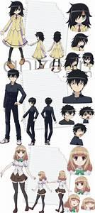 117 best watamote images on Pinterest | Anime art, Anime ...  Watamote