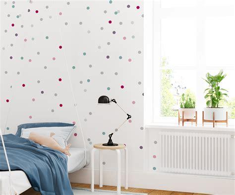 Tapety Dla Dzieci by Tapeta Dots Room