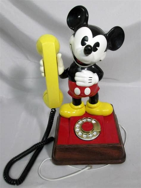 mickey mouse phone vintage mickey mouse phone