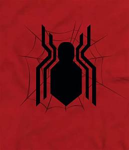 Official Spiderman T-Shirt (Red Far From Home Classic Logo)