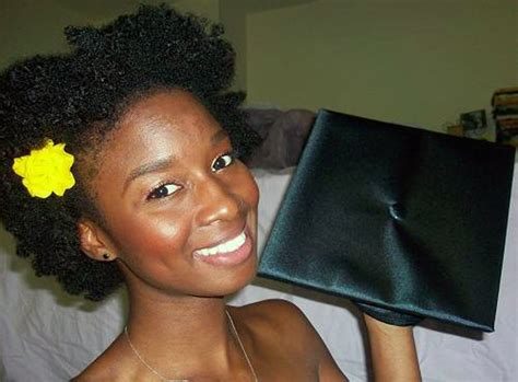 natural hairstyles for graduation cap inofashionstyle com