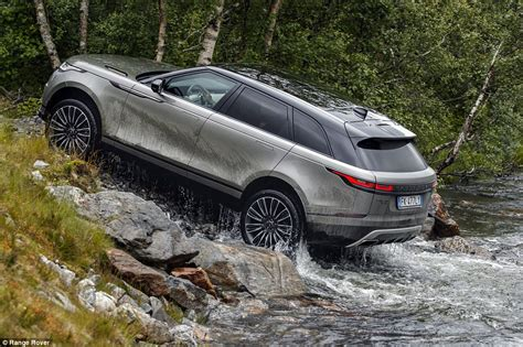 Wading Land Rover Wallpaper by Range Rover Velar Review Drive Of New Luxury 4x4