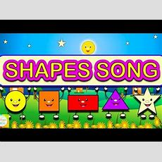 Shapes Song  Learn Shapes ( Learning Videos For Children) Youtube