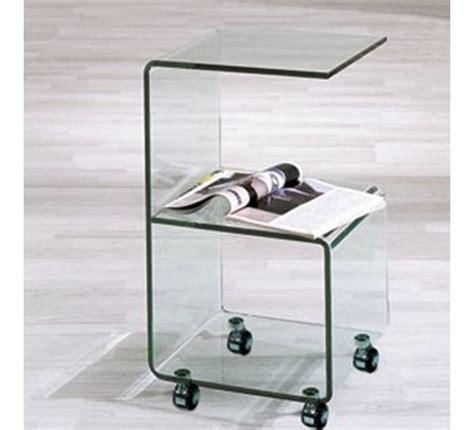 table basse bout de canapé gueridon en verre 3279