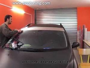 Prix Pare Brise 307 : pose d 39 un bandeau pare soleil pr d coup de 21 cm sur peugeot 307 youtube ~ Gottalentnigeria.com Avis de Voitures