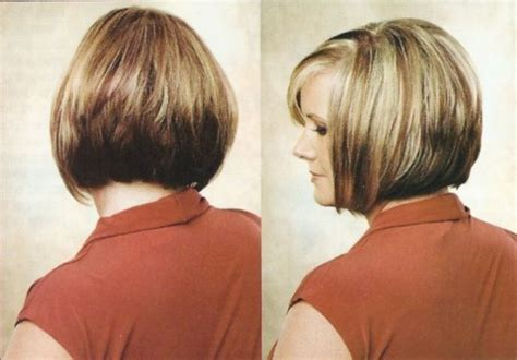 Line Bob Haircuts Back And Side