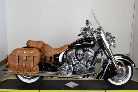 indian chief vintage thunder black motorcycle