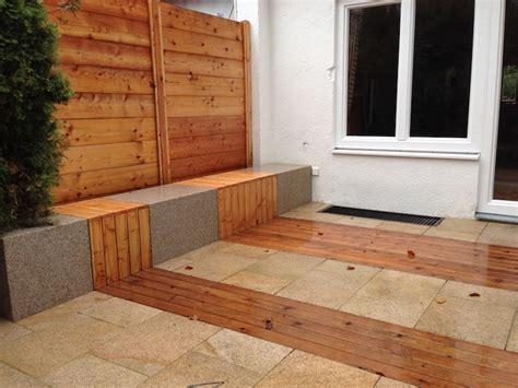 Terrasse Holz Und Stein by Terrasse Holz Und Stein Kombiniert Bvrao