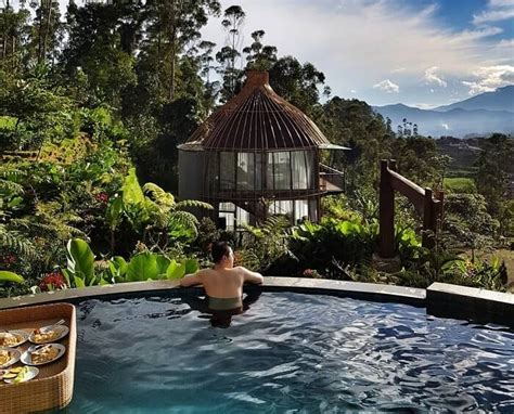 rute  harga sewa bubu jungle resort ciwidey bandung