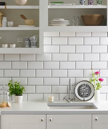 white kitchen brick tiles kitchen tiles walls floors topps tiles 1330
