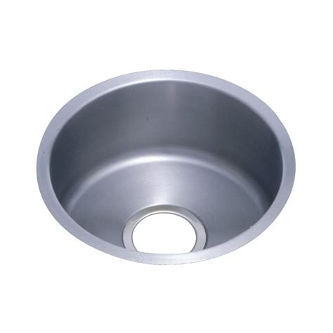 undermount single bowl kitchen sinks elkay lustertone undermount stainless steel 14 in single 8736