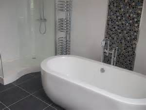 bathroom tiles for small bathrooms ideas photos white tiles with button mosaic feature m c k n i g h t t i l i n g