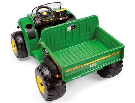 deere gator hpx 12 volt ride on by peg perego wow