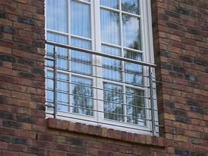 Hbscher Franzsischer Balkon Aus Edelstahl
