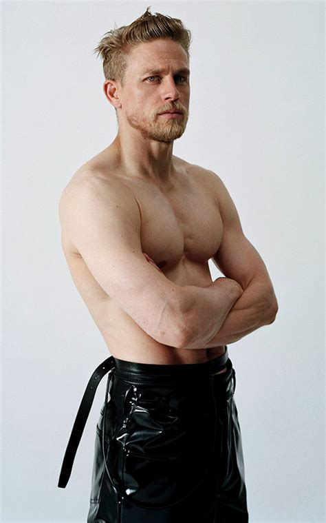 Sexiest Man Alive Charlie Hunnam looks amazing on the