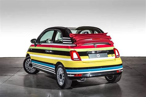 this one of a kind fiat 500c missoni edition just sold for 60k