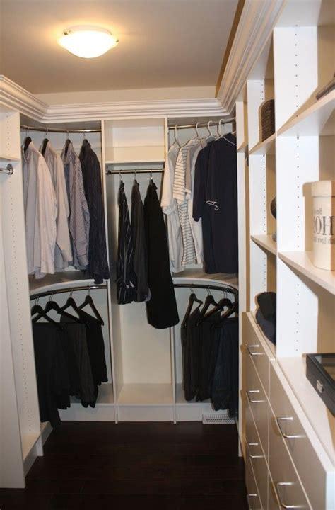 curved closet rods corners master closet corner closet