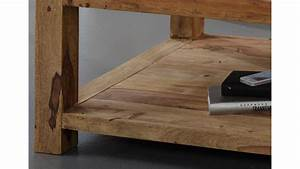 Säulentisch 80 X 80 : couchtisch 80x80 cm yoga sheesham massiv von wolf m bel ~ Bigdaddyawards.com Haus und Dekorationen