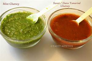 How to make Green Chutney & Sweet Chutney for Chats ...