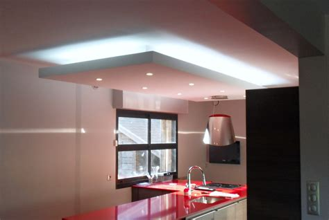 faux plafond cuisine design plafond travaux et dépannage maison