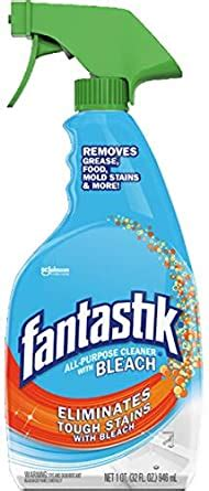 Amazon.com: Fantastik All Purpose Cleaner with Bleach, 32