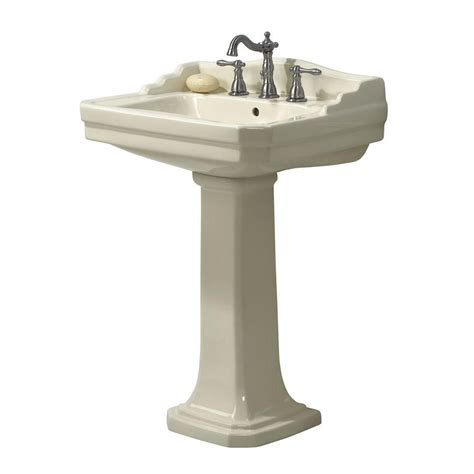 Foremost Series 1930 Lavatory And Pedestal Combo In
