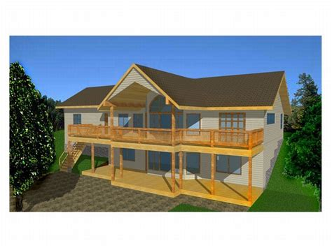 sloping lot house plans plan 012h 0025 find unique house plans home plans and