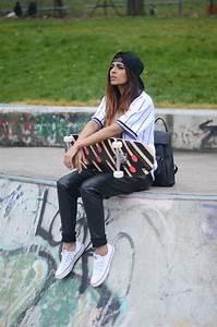 Neff Women's Street Style   skatergirl rocks   Skater ...