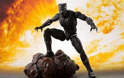 4k Panther Action Avengers War Figure Fire