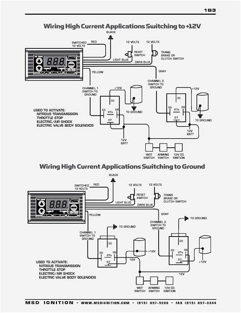 Msd Wiring Diagram Schematic by Msd Ignition 6al 6420 Wiring Diagram Free Wiring Diagram