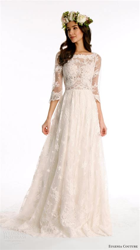 High Quality Lace Bohemian Wedding Dresses 2017 34