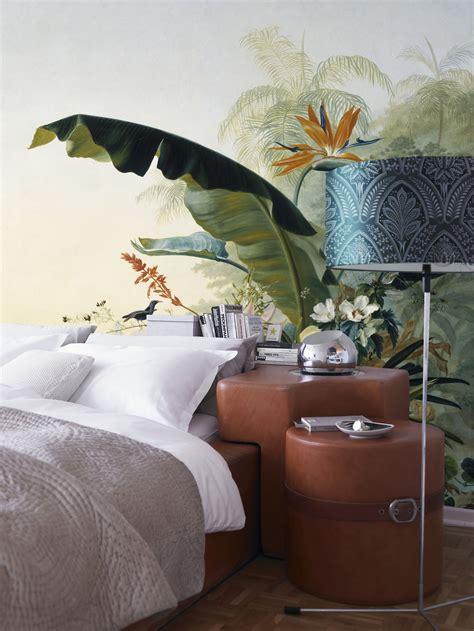 Décoration Chambre Naturelle Ou Tropicale, Tête De Lit