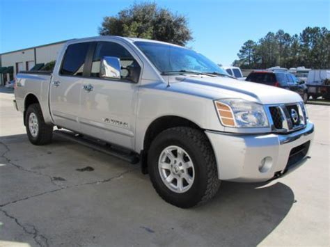 Purchase Used 06 Nissan Titan Le Nav, Dvd Sys 4x4 Cd