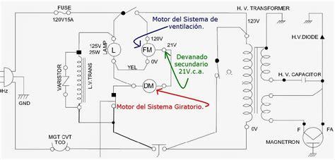 como conectar los microswitch de un microondas lg yoreparo