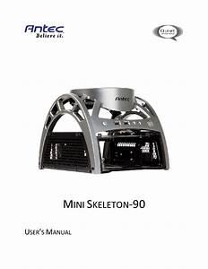 Quiet Computing Mini Skeleton-90 Manuals