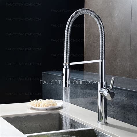 rotatable  handle chrome high  kitchen faucets