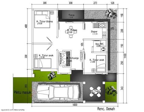 kumpulan denah rumah minimalis modern karya arsitek