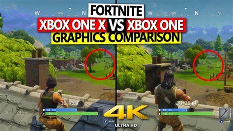 fortnite xbox    xbox  graphics comparison