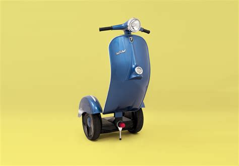 scooter   real deal vespa segway based
