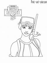 Fortnite Coloring Pages sketch template
